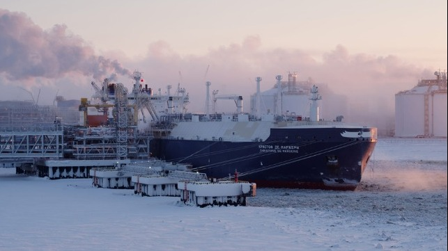 Russian Arctic Tanker Reported To Experience Propulsion Problem