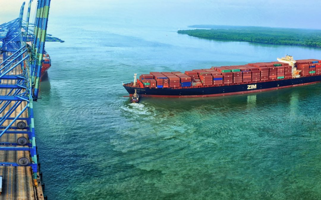 ZIM In Billion-dollar LNG-powered Containerships Charter Deal With Seaspan