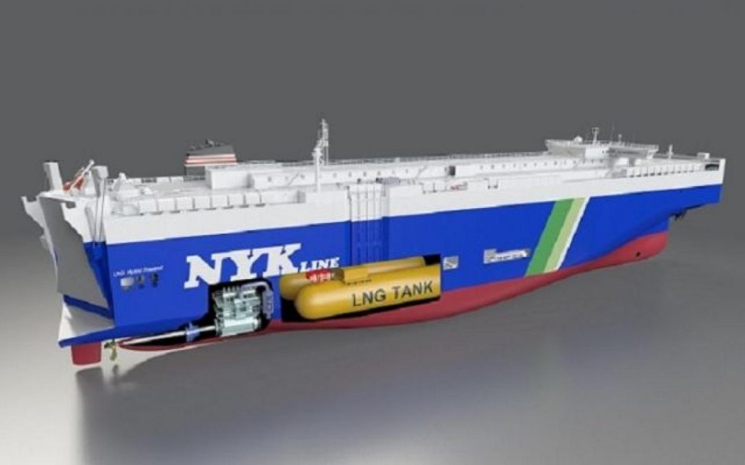 NYK Orders Four LNG-fuelled Car Carriers From China