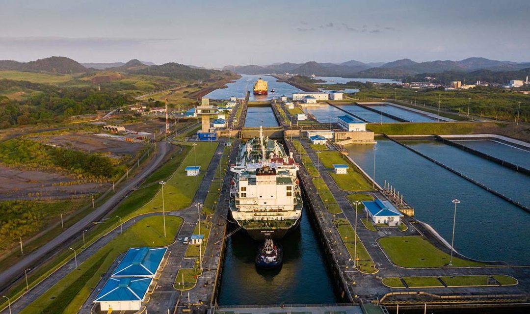 Panama Canal Hits LNG Transit Record