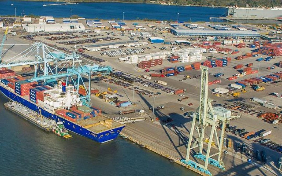 Florida's Jaxport Completes $104m Berth Expansion