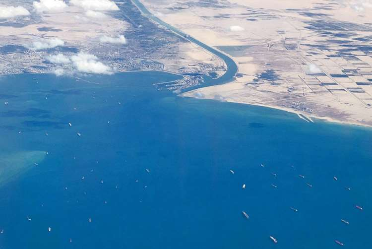 Suez Canal Begins Clearing Vessel Backlog