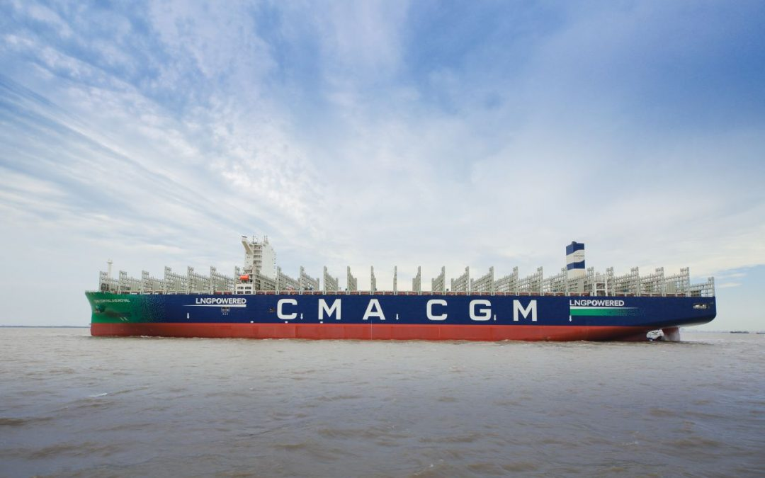 CSSC Delivers 6th LNG-Powered Giant To CMA CGM