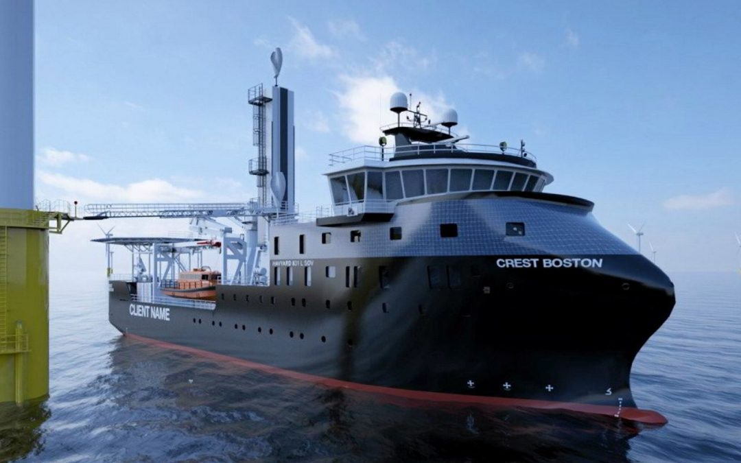 Crowley And ESVAGT To Partner For US Offshore Wind Support Vessels