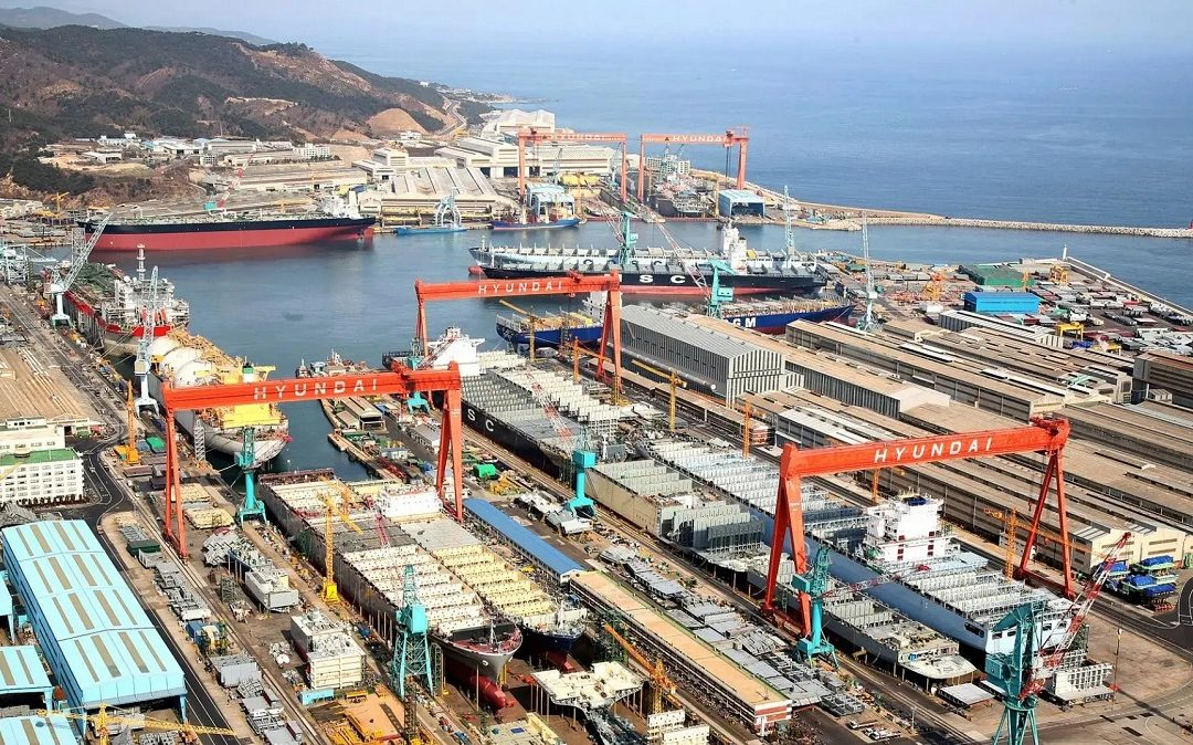 Hyundai Heavy Industries To Transfer LNG Ship Technology To Small Shipbuilders