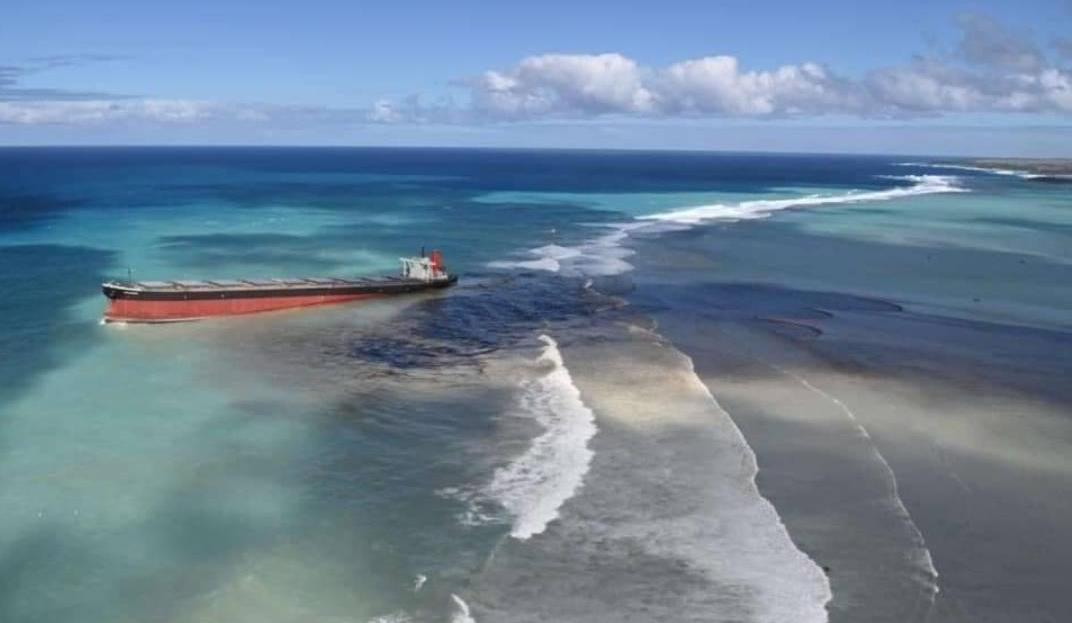 Chinese-Flagged Fishing Vessel Causes Minor Spill Off Mauritius