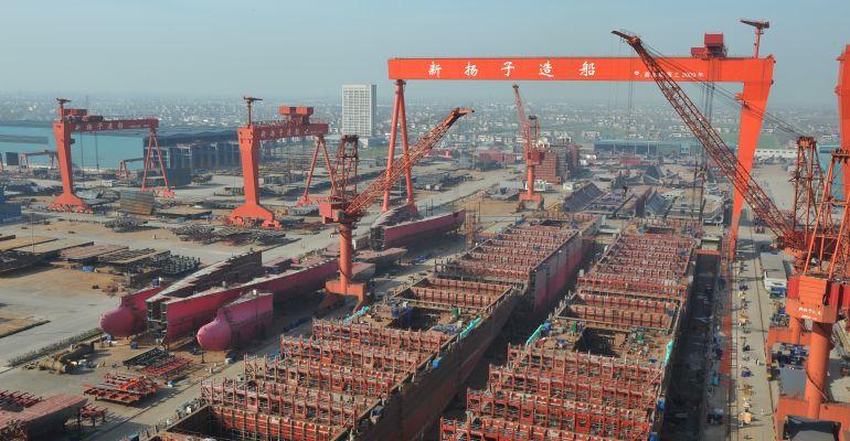 Yangzijiang Shipbuilding Secures $3bn In Newbuildings Year-To-Date