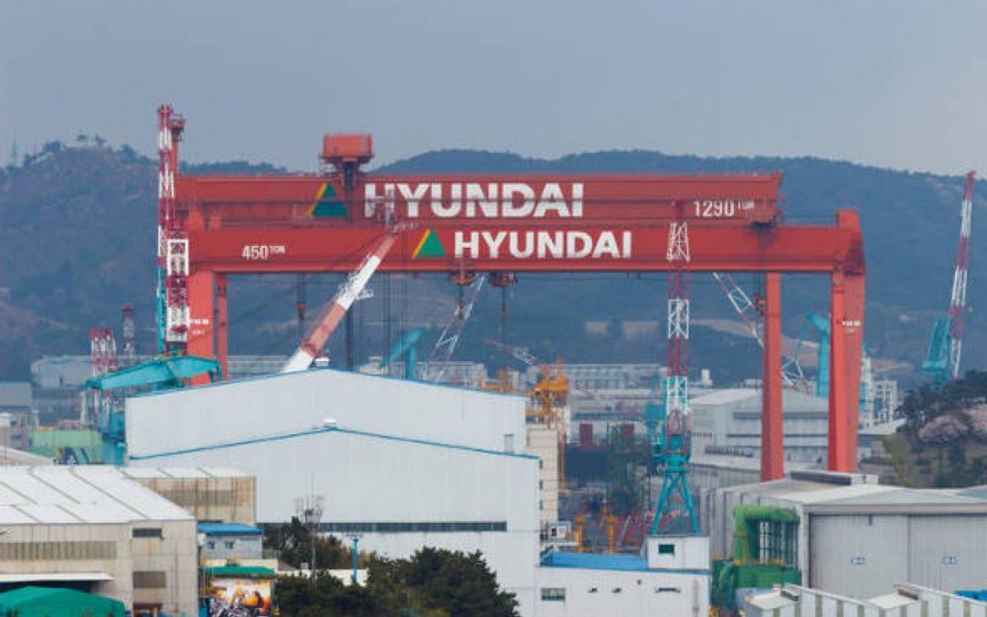 Hyundai Heavy Industries Suffers Triple Whammy