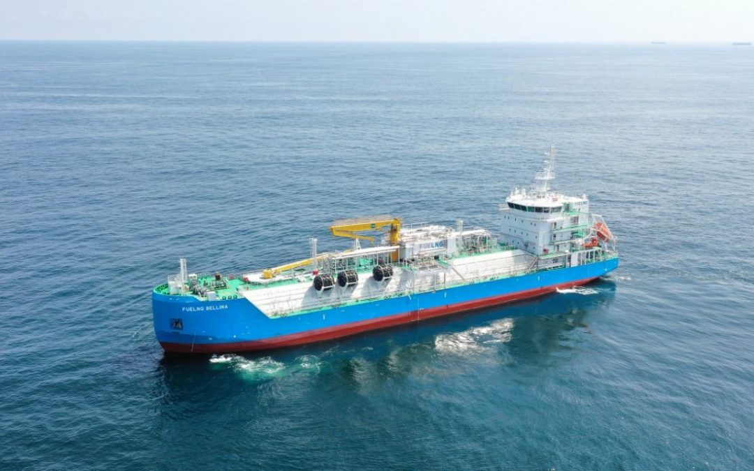 Maersk, Keppel, And Fleet Part Of Study To Explore Green Ammonia Bunkering In Singapore