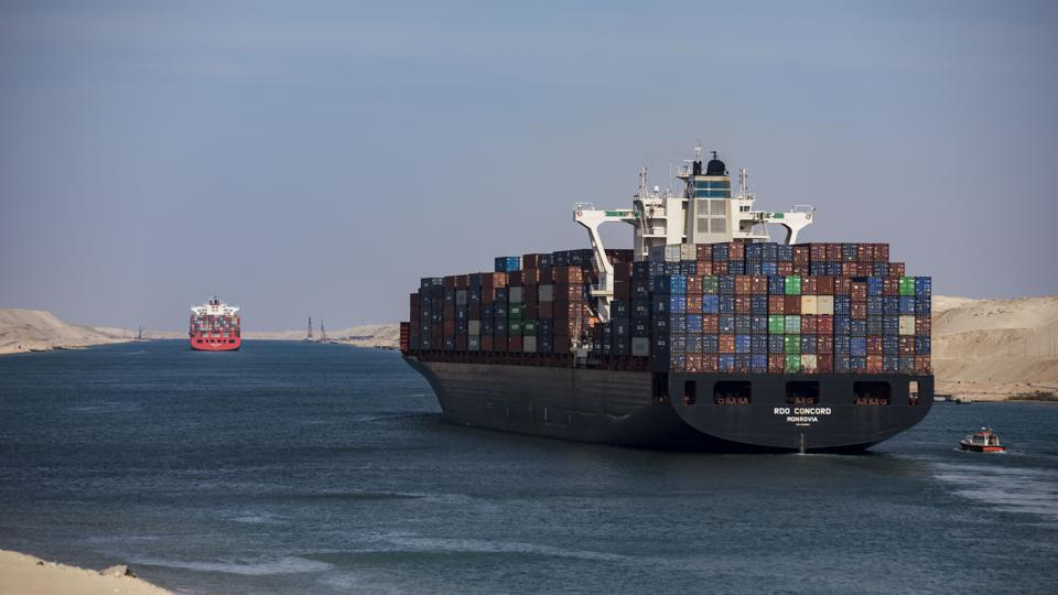 All Vessels Stranded By Ever Given Grounding Clear The Suez Canal