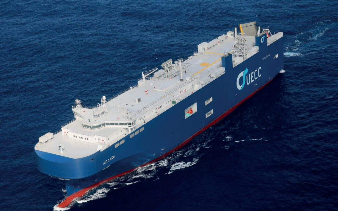 UECC Launches 1st Battery Hybrid LNG-Powered PCTC