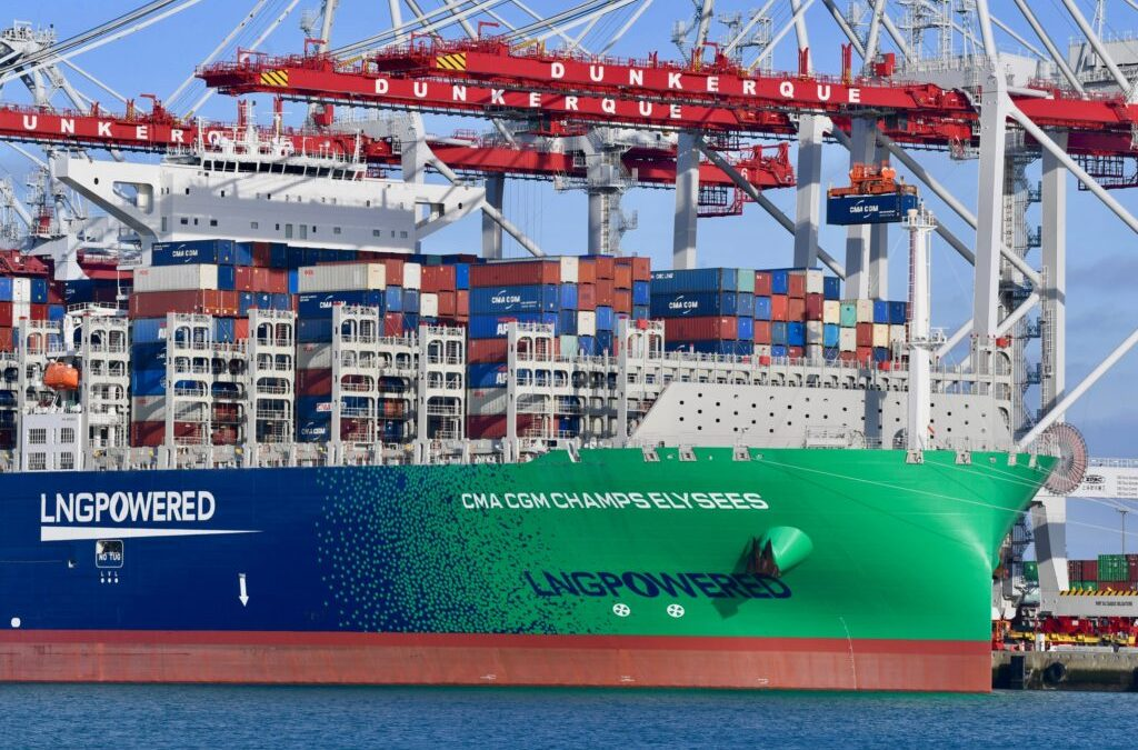 CMA CGM Launches 1st Low-Carbon Shipping Offer Based On Biomethane