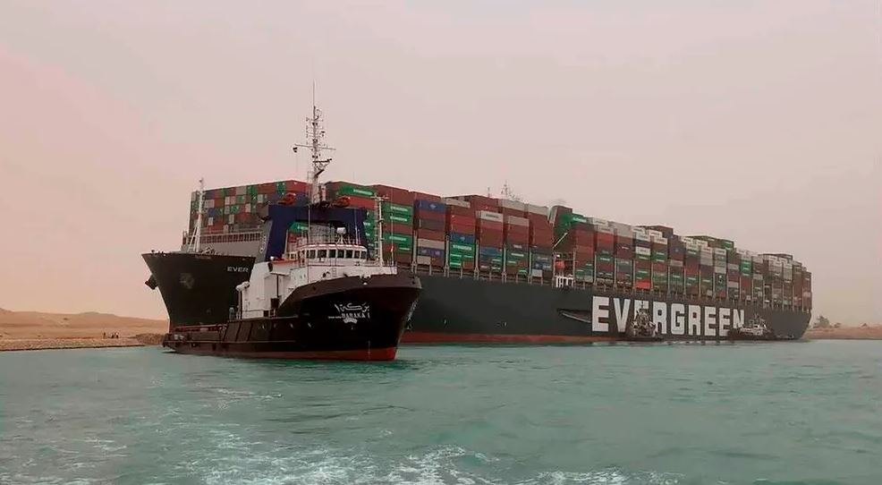 Containership Ever Given Arrested By Suez Canal Authority