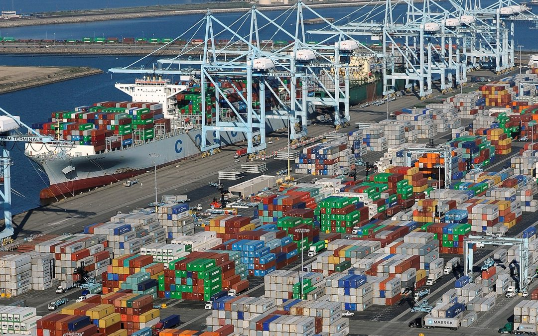 Freight Rates Spike As Asian Cargo Ships Jam US West Coast Ports