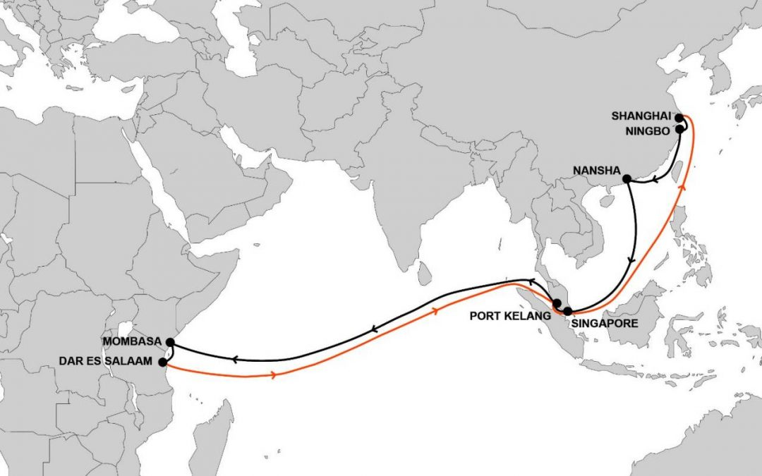 Hapag-Lloyd Launches New Service Connecting Asia And East Africa