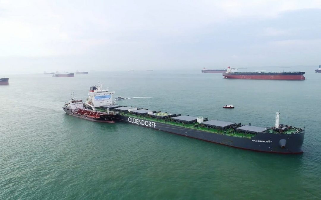 First Test Of Biofuel In Singapore Conducted By BHP And Oldendorff