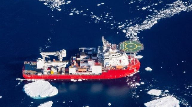 Australia Sends Escort To Meet Fire-Damaged Supply Ship On Trip North