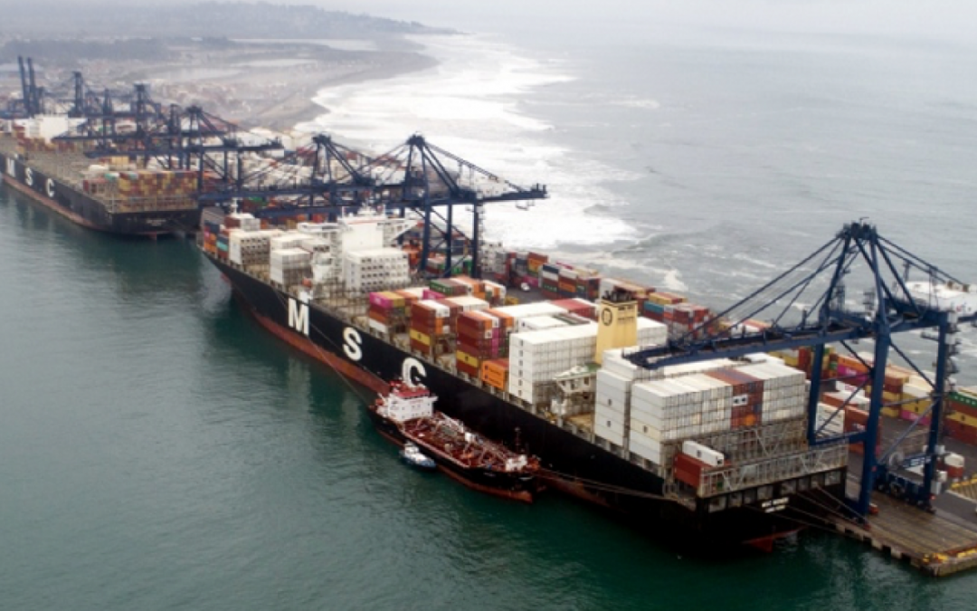 STI In Chile First With Dual Berthing Of Neo-Panamax Boxship