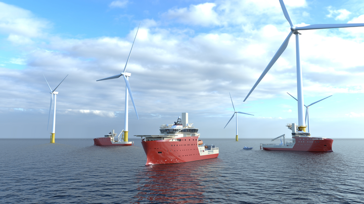 Vard To Build Three Service Vessels For World's Largest Wind Farm