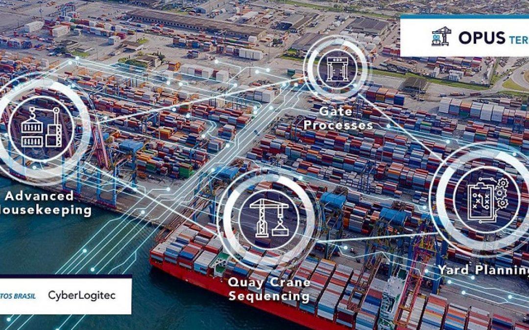 Santos Brasil Selects CyberLogitec's OPUS Terminal System