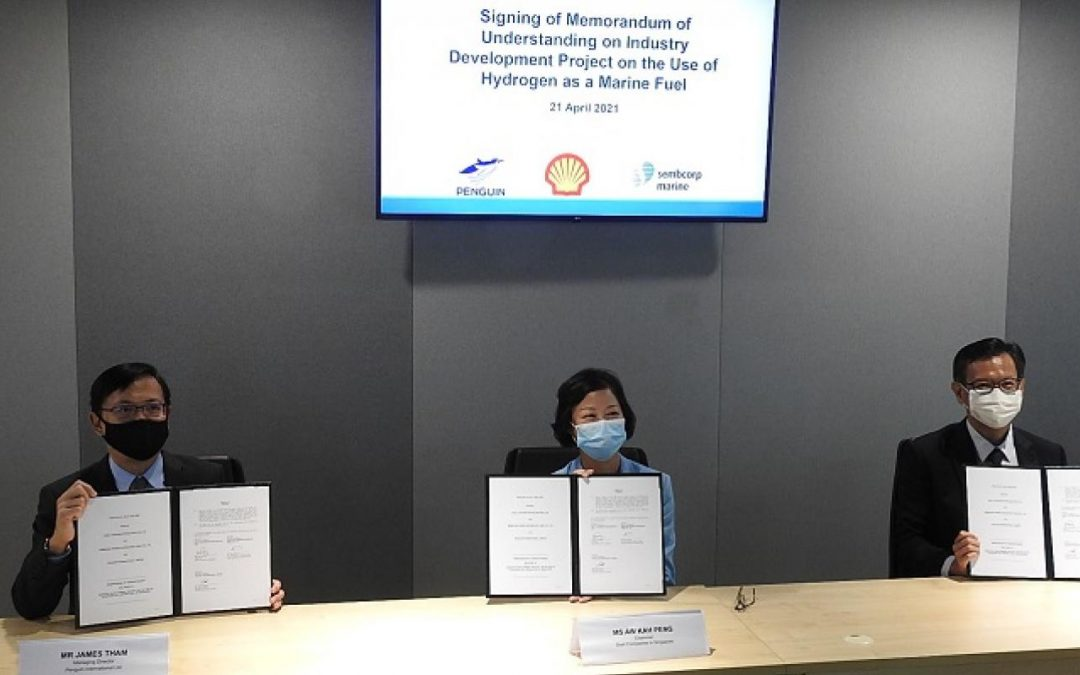 Shell In Hydrogen Fuel Cell Trial For Ships