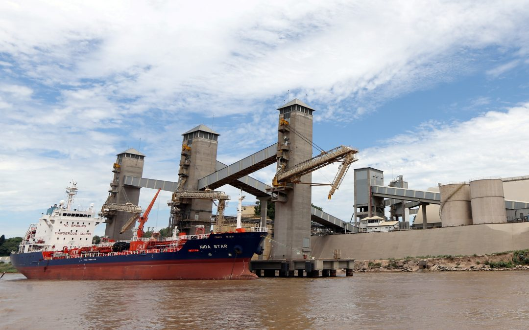 Stranded Grains Ships To Be Towed Free From Rosario, Says Ports Chamber