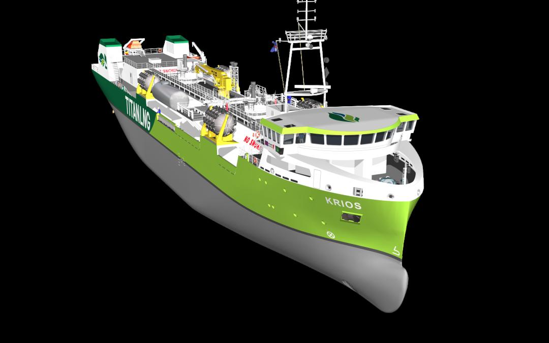 Titan Plans First Dual-Fuel Bio-LNG Bunkering Vessel