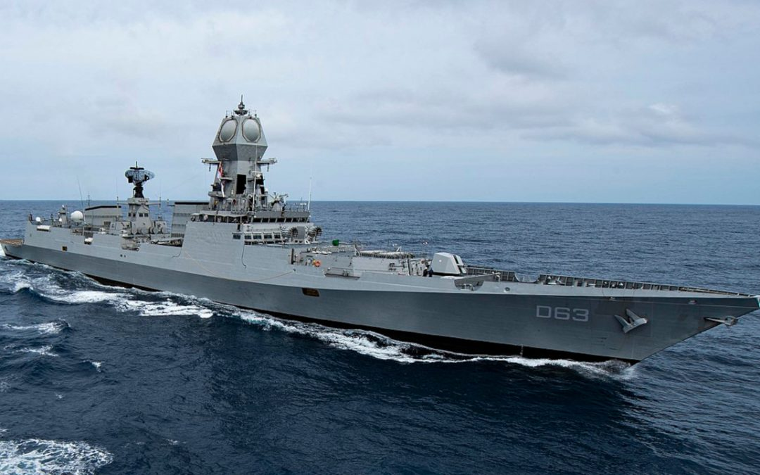 Indian Navy Sends Seven Warships To Import Oxygen For COVID Relief