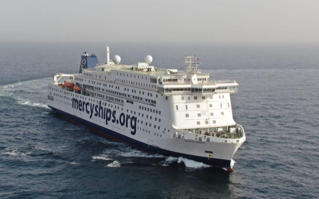 World's Biggest Civilian Hospital Ship Completes Sea Trials