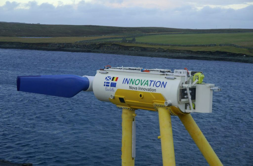 Nova Innovation, Sabella Join Forces To Progress Tidal Power In UK And France