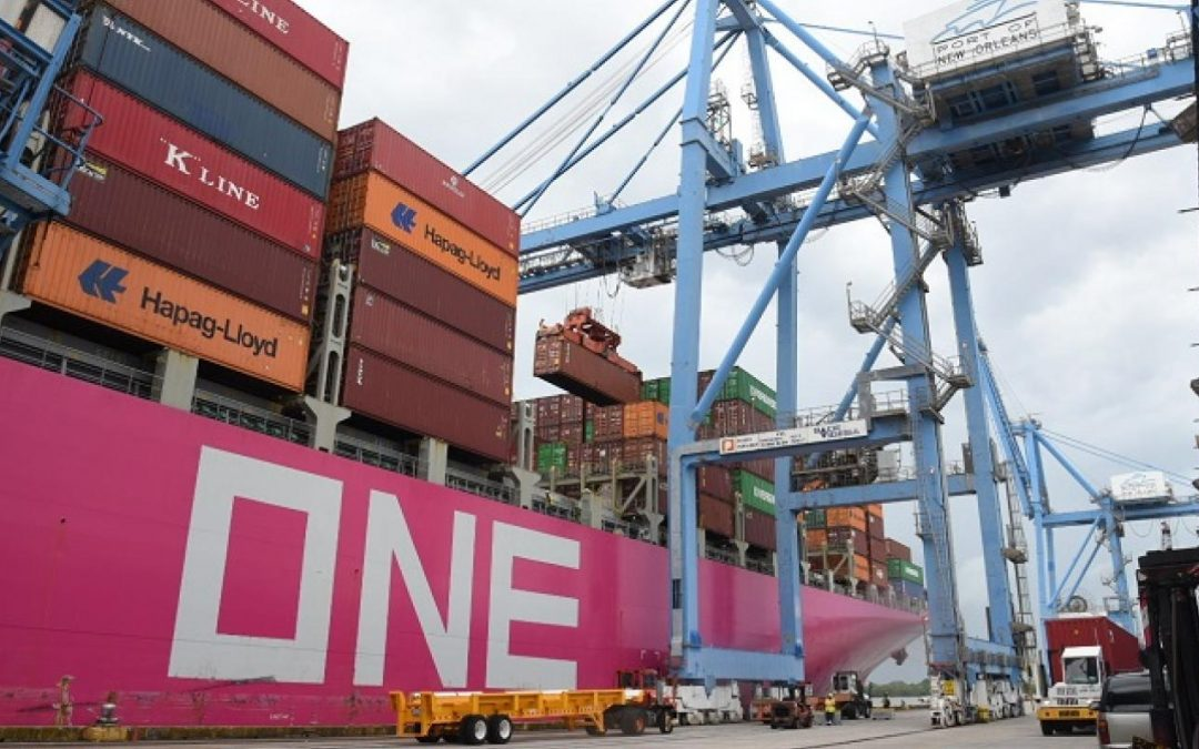 ONE Modern Calls on Port of New Orleans, Third Direct-Asia Service