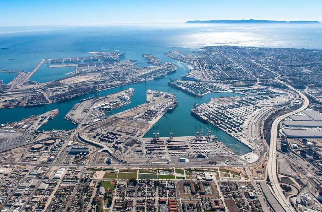 Port Of Los Angeles Expected To Hit 10.8m Teu Annual Volume