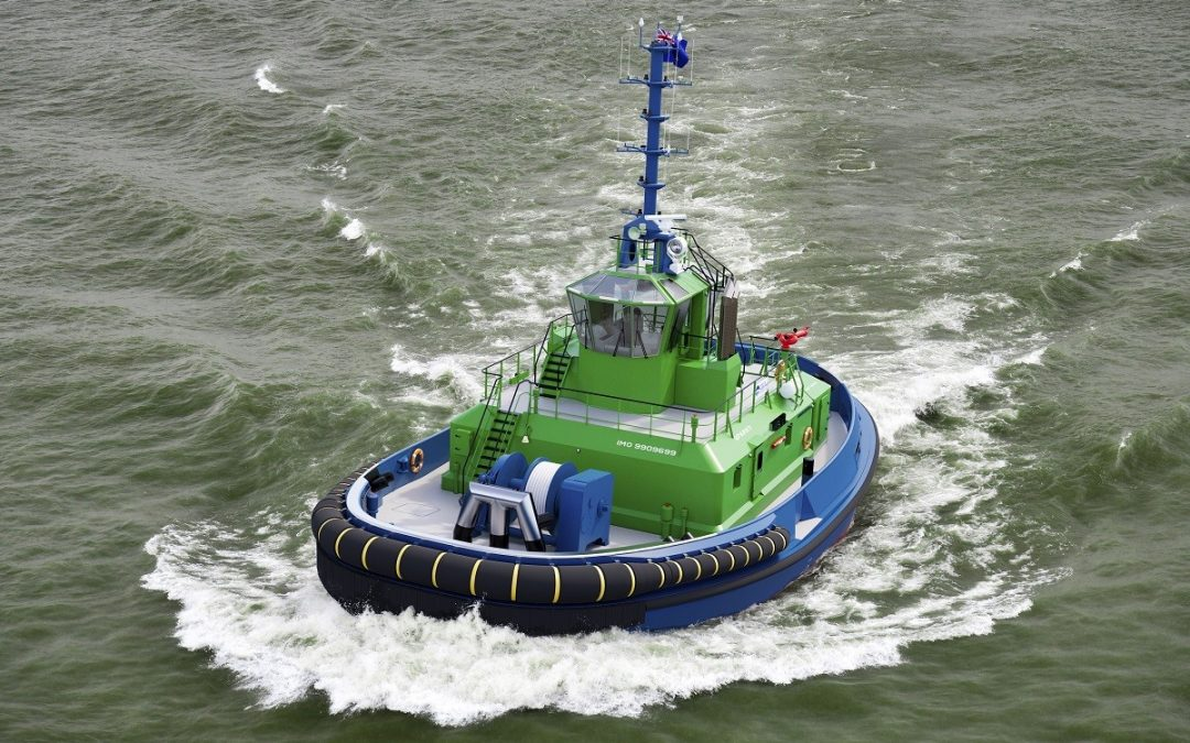 Damen Fits Batteries On Its All-Electric Tug