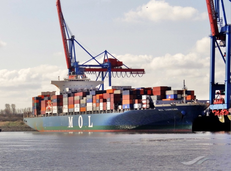 MOL Charisma Refloated After Grounding In SE Asia