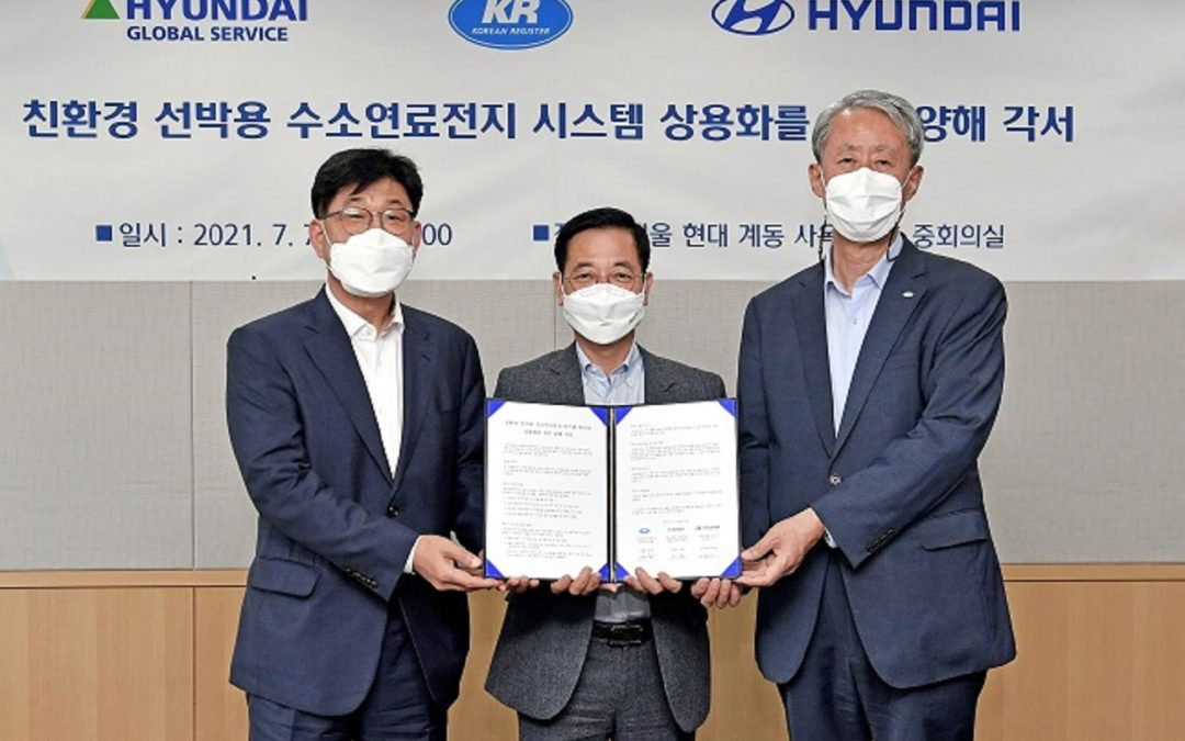 KR Signs MOU With Hyundai Motors And Hyundai Global Services: Collaboration Will Focus On Hydrogen Fuel Cell Systems