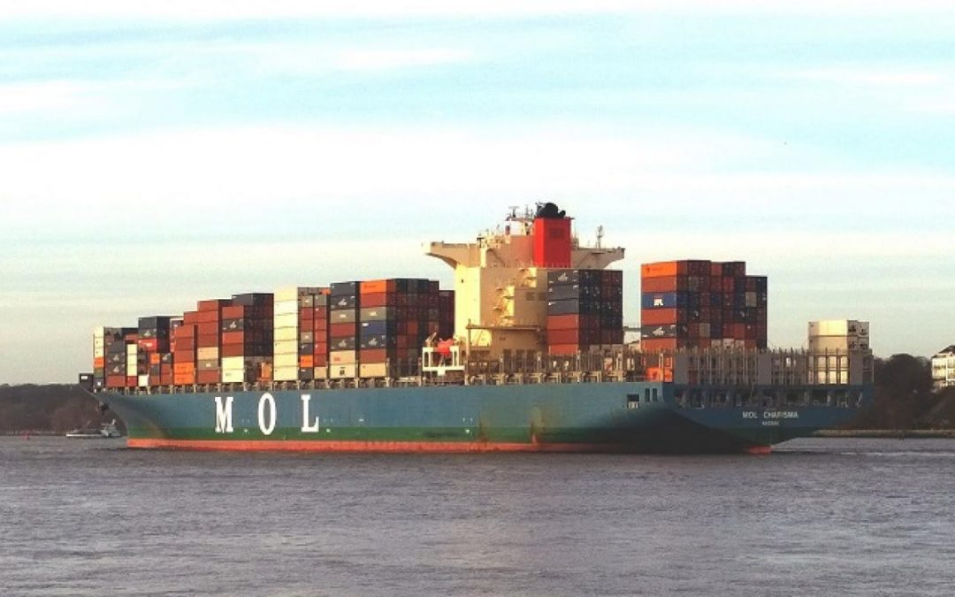 MOL Charisma Out Of Service For Repairs After Grounding