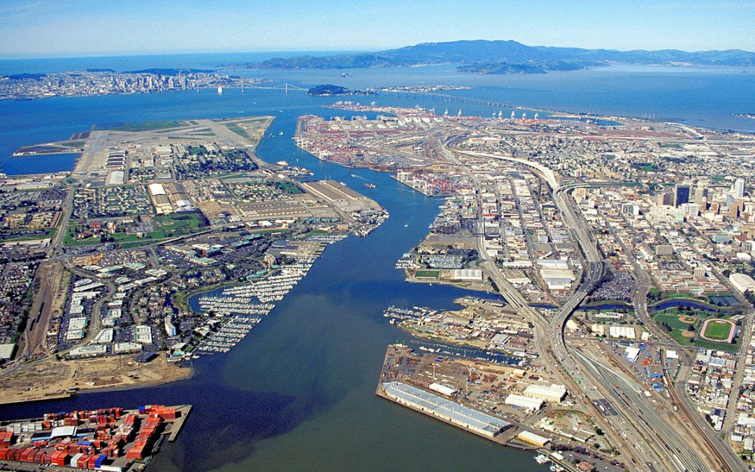 Port Of Oakland Container Volumes Rise 11.4% On Year In H1 2021