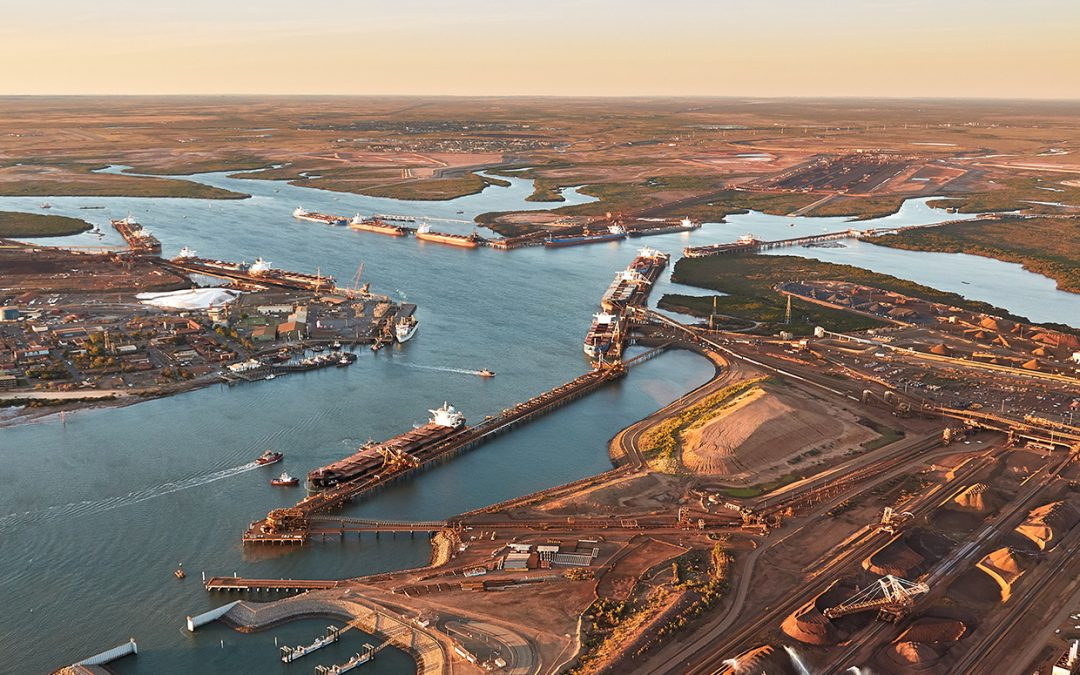 Port Of Hedland's June Iron Ore Exports Down Compared To A Year Ago