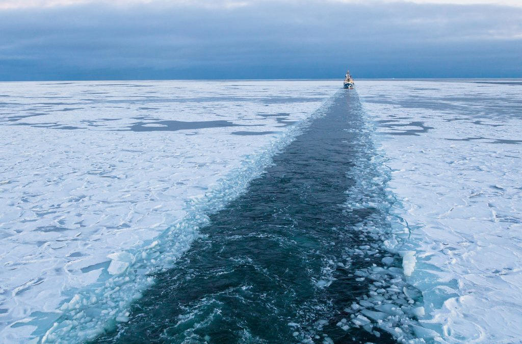 Russia To Build First LNG-Powered Icebreakers For Arctic Sea Route