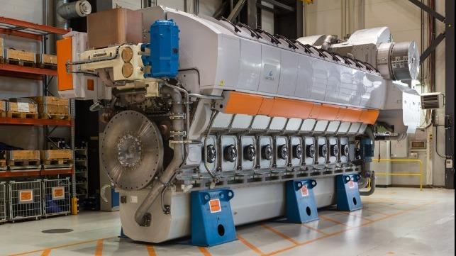 Wärtsilä Reports Progress, Targeting Ammonia Blend Engine This Year