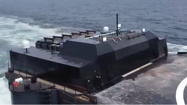 SpaceX May Have The Largest Unmanned Merchant Vessel In Operation