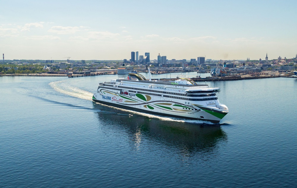 Rauma Marine Launches Tallink's LNG-Fueled Shuttle Ferry