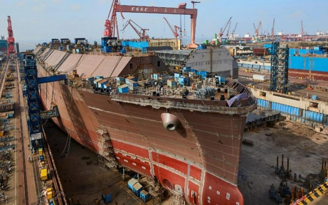 Chinese Shipbuilders To See Surge In Orders This Year