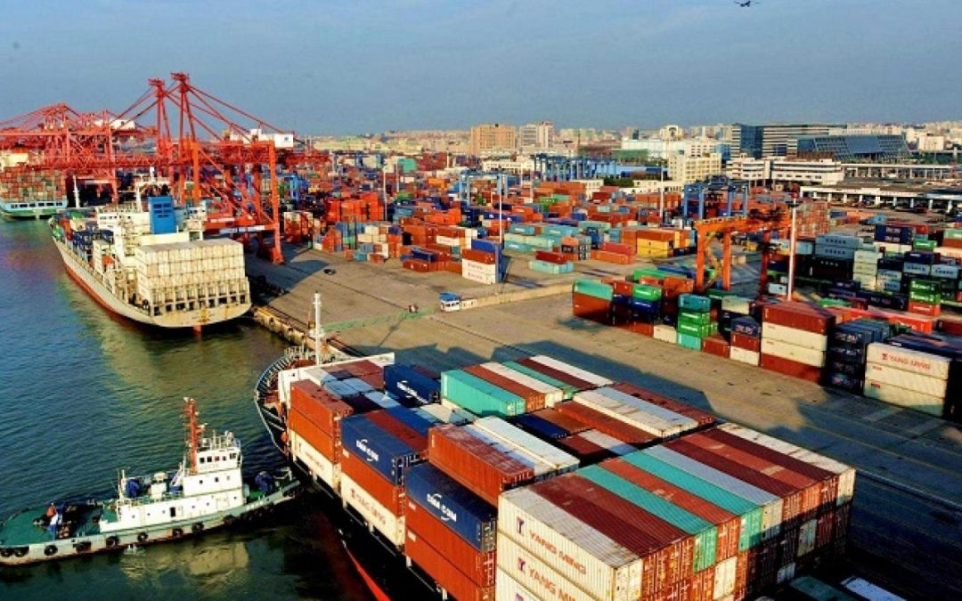 Chinese Major Container Port Volumes Hit By Typhoon In Late July