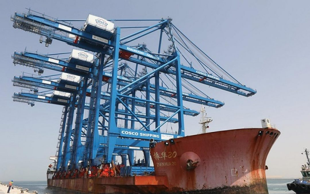 Cosco Shipping Ports Posts 8.8% Container Growth In H1