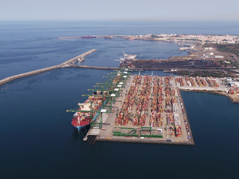 Port Of Sines Sees 22.5% Container Growth In H1