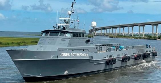 Falling Foul Of The Jones Act Enforcer