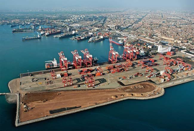 Peru Ports See 18.8% Volume Growth In H1