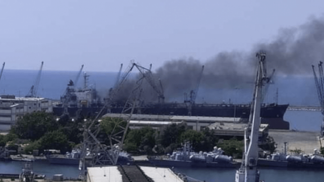 Third Fire Aboard Tanker In Syria Raises New Questions