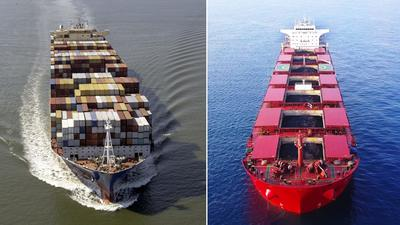 Battle Of The Shipping Booms: Containers '21 Vs Dry Bulk '07-'08